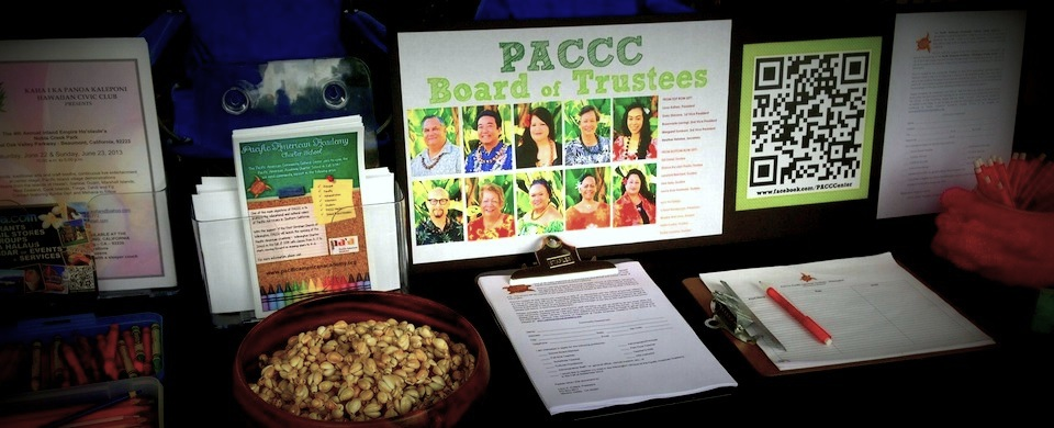 PACCC Informational Table