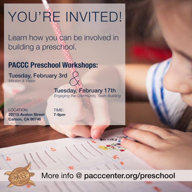carson community center preschool preschool workshops begin february 3rd paccc 459