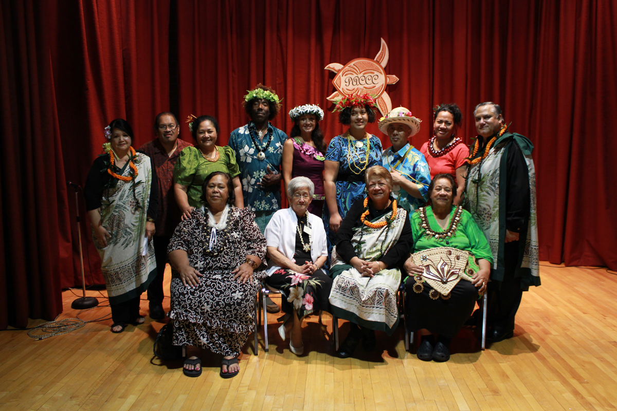 PICC representatives at the 2014 Omai Fa'atasi event.