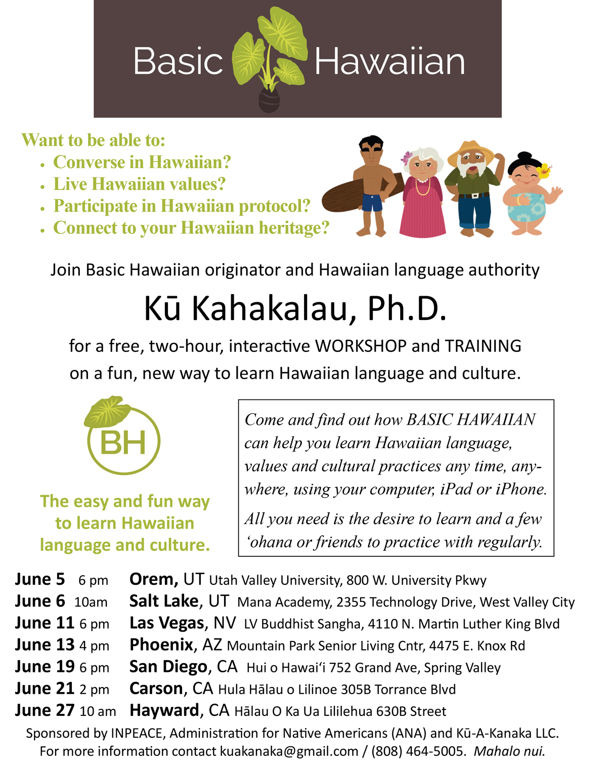 How to Learn Hawaiian recommendations